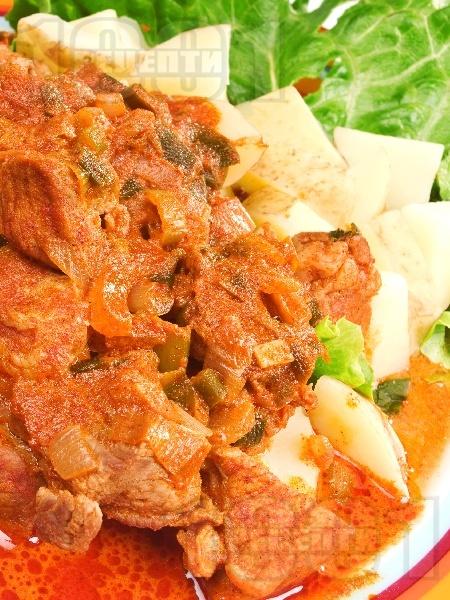 Паприкаш от телешко месо - снимка на рецептата
